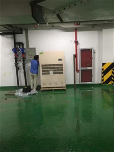 地下停车场抽湿器