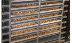 食品生产中产品如何快速晾干之耐高温烘干型除
