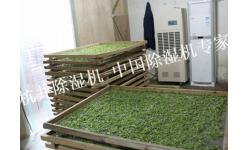 茶叶仓库除湿机案例
