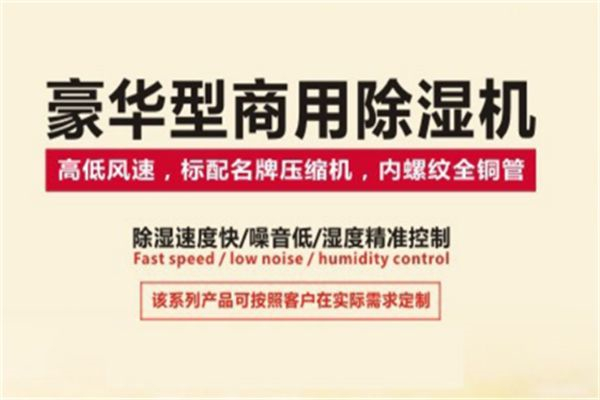 广东服装厂除湿器